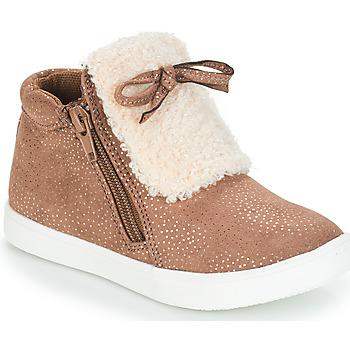 Παπούτσια Κορίτσι Μπότες André MOUFLON Beige
