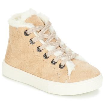 Παπούτσια Κορίτσι Ψηλά Sneakers André TRICOT Beige