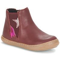 Παπούτσια Κορίτσι Μπότες André MAGENTA Bordeaux