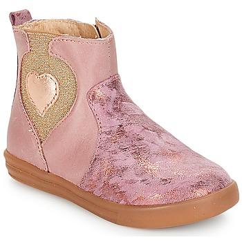 Παπούτσια Κορίτσι Μπότες André MAUVE Ροζ