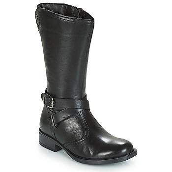 Παπούτσια Κορίτσι Μπότες για την πόλη André HIVER Black