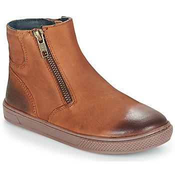 Μπότες André CUMIN ΣΤΕΛΕΧΟΣ: Δέρμα & ΕΠΕΝΔΥΣΗ: Ύφασμα & ΕΣ. ΣΟΛΑ: Δέρμα & ΕΞ. ΣΟΛΑ: Καουτσούκ