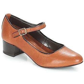 Παπούτσια Γυναίκα Μπαλαρίνες André FOLLOW Brown