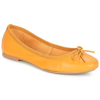 Παπούτσια Γυναίκα Μπαλαρίνες André PIETRA Yellow