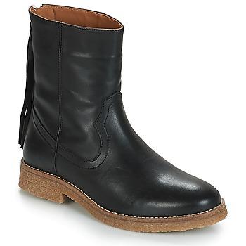 Παπούτσια Γυναίκα Μπότες André THEO Black