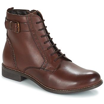 Παπούτσια Γυναίκα Μπότες André CHEPTELA Brown
