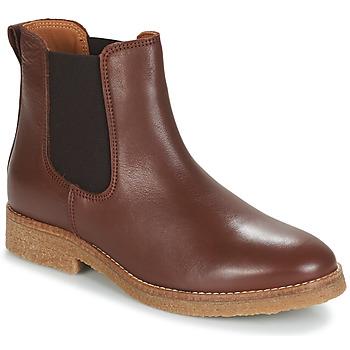 Παπούτσια Γυναίκα Μπότες André THELA Brown