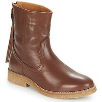 Παπούτσια Γυναίκα Μπότες André THEO Brown