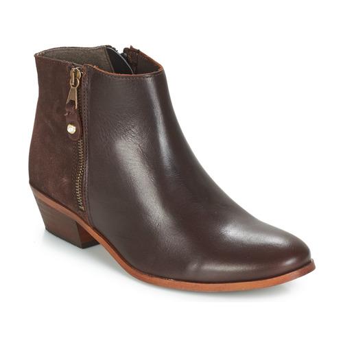 Παπούτσια Γυναίκα Μπότες André THAIS Brown