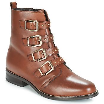 Παπούτσια Γυναίκα Μπότες André TODAY Brown