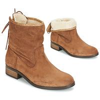 Παπούτσια Γυναίκα Μπότες André TELEX Brown