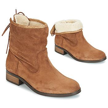 Μπότες André TELEX ΣΤΕΛΕΧΟΣ: Δέρμα & ΕΠΕΝΔΥΣΗ: Ύφασμα & ΕΣ. ΣΟΛΑ: Δέρμα & ΕΞ. ΣΟΛΑ: Καουτσούκ