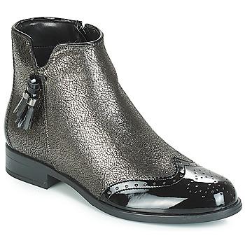 Παπούτσια Γυναίκα Μπότες André ALINA Bronze / Black