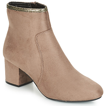 Παπούτσια Γυναίκα Μπότες André FALOU Beige