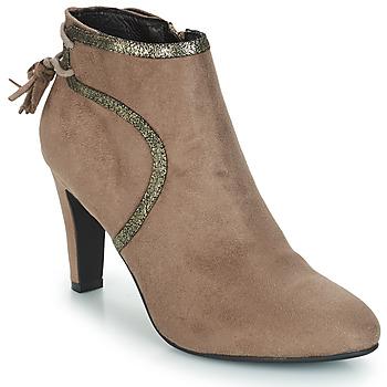 Παπούτσια Γυναίκα Μπότες André AUREL Beige