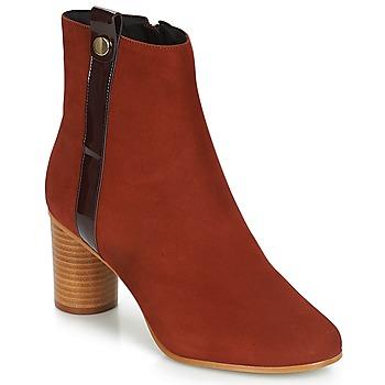Παπούτσια Γυναίκα Μποτίνια André FILO Red