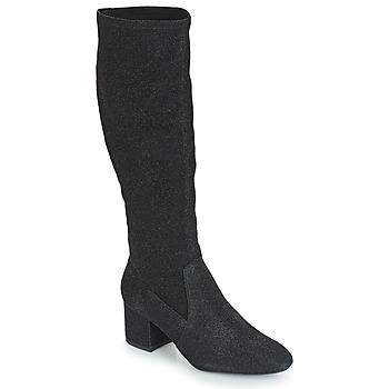 Παπούτσια Γυναίκα Μπότες για την πόλη André FARFELUE Black / Paillettes