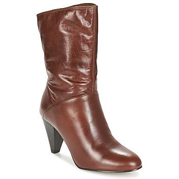Παπούτσια Γυναίκα Μπότες για την πόλη André FEVER Brown