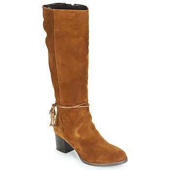 Παπούτσια Γυναίκα Μπότες για την πόλη André TEENAGER Brown