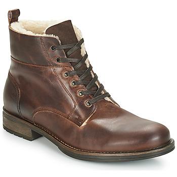 Παπούτσια Άνδρας Μπότες André MONTAGNARD Brown