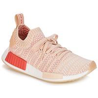 Παπούτσια Γυναίκα Χαμηλά Sneakers adidas Originals NMD R1 STLT PK W Άσπρο