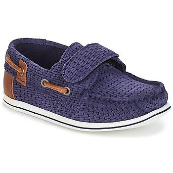 Παπούτσια Αγόρι Boat shoes André LES CAILLOUX Marine