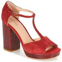 Παπούτσια Γυναίκα Σανδάλια / Πέδιλα André TORRIDE Red
