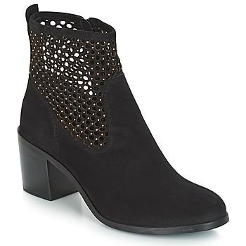 Παπούτσια Γυναίκα Μπότες André TOTEM Black