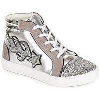 Παπούτσια Γυναίκα Ψηλά Sneakers André LOTUS Argenté