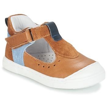 Παπούτσια Παιδί Μπαλαρίνες André SARBACANE Camel