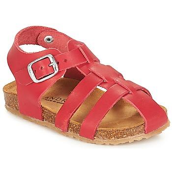 Παπούτσια Παιδί Σανδάλια / Πέδιλα André AVIRON Red