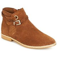 Παπούτσια Γυναίκα Μπότες André IDAHO Camel