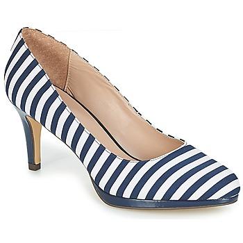 Παπούτσια Γυναίκα Γόβες André CRYSTAL Rayé / Μπλέ