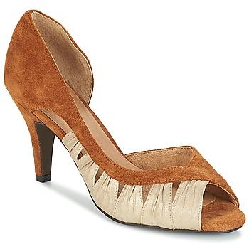Παπούτσια Γυναίκα Γόβες André PUNGI Camel