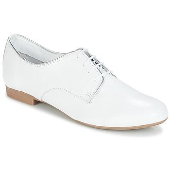 Παπούτσια Γυναίκα Derby André COMPERE Άσπρο