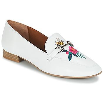 Παπούτσια Γυναίκα Μοκασσίνια André HENSON Άσπρο