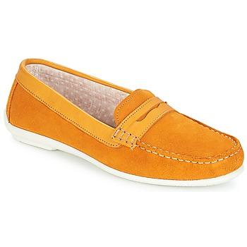 Παπούτσια Γυναίκα Μοκασσίνια André FRIOULA Yellow