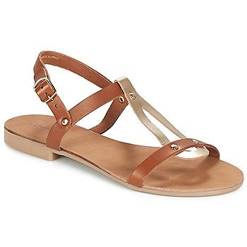 Παπούτσια Γυναίκα Σανδάλια / Πέδιλα André TOUFOU Camel