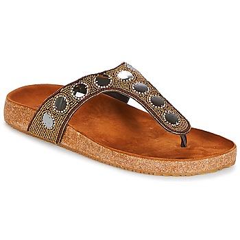 Παπούτσια Γυναίκα Σαγιονάρες André PANDORE Brown