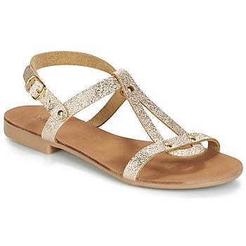 Παπούτσια Γυναίκα Σανδάλια / Πέδιλα André TOUFOU Gold