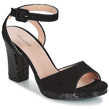 Παπούτσια Γυναίκα Σανδάλια / Πέδιλα André FESTIVE Black