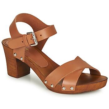Παπούτσια Γυναίκα Σανδάλια / Πέδιλα André BONGO Brown