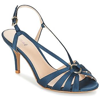 Παπούτσια Γυναίκα Σανδάλια / Πέδιλα André MIRABELLE Μπλέ