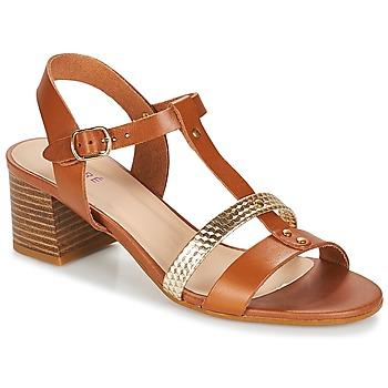 Παπούτσια Γυναίκα Σανδάλια / Πέδιλα André ANTIGUA Camel