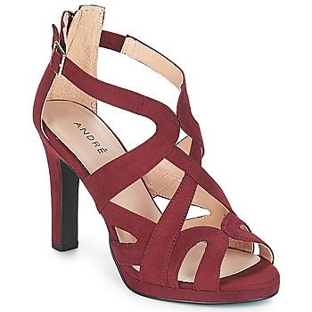 Παπούτσια Γυναίκα Σανδάλια / Πέδιλα André CHARLESTON Bordeaux