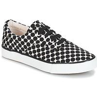 Παπούτσια Γυναίκα Χαμηλά Sneakers André FUSION Polka dot / Black