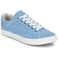Παπούτσια Γυναίκα Χαμηλά Sneakers André SESAME Rayé / Μπλέ