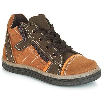 Παπούτσια Αγόρι Ψηλά Sneakers Citrouille et Compagnie JESSICA Camel