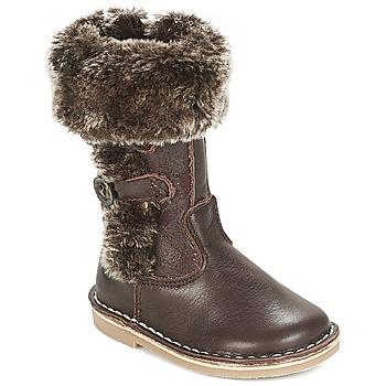 Παπούτσια Κορίτσι Μπότες για την πόλη Citrouille et Compagnie JOSY Brown