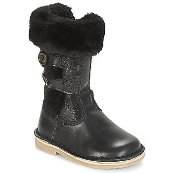 Παπούτσια Κορίτσι Μπότες για την πόλη Citrouille et Compagnie JOSY Black